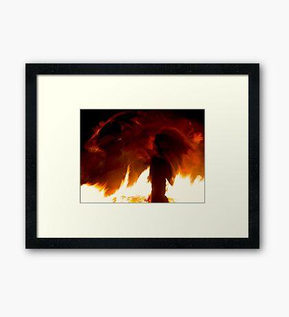 Fire Spirits Framed Print