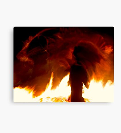 Fire Spirits Canvas Print