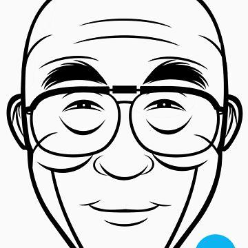 Dalai Lama by 21Dogs