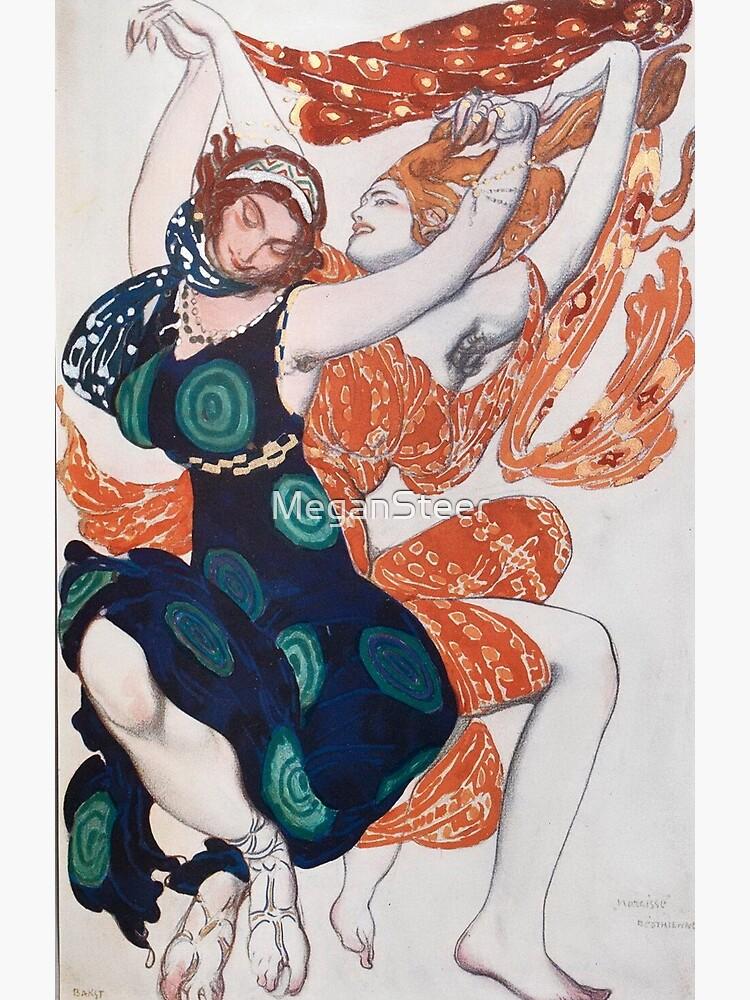 Leon Bakst Costume Illustration, 1911 by MeganSteer