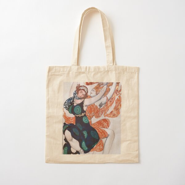 Leon Bakst Costume Illustration, 1911 Cotton Tote Bag