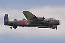 BBMF Lancaster - Dunsfold 2012 by Colin  Williams Photography