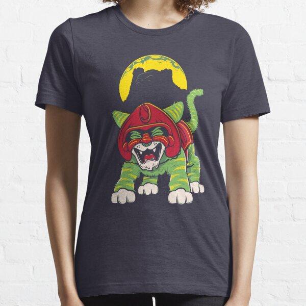 Battle Kitty's Mighty RAWR!  Essential T-Shirt