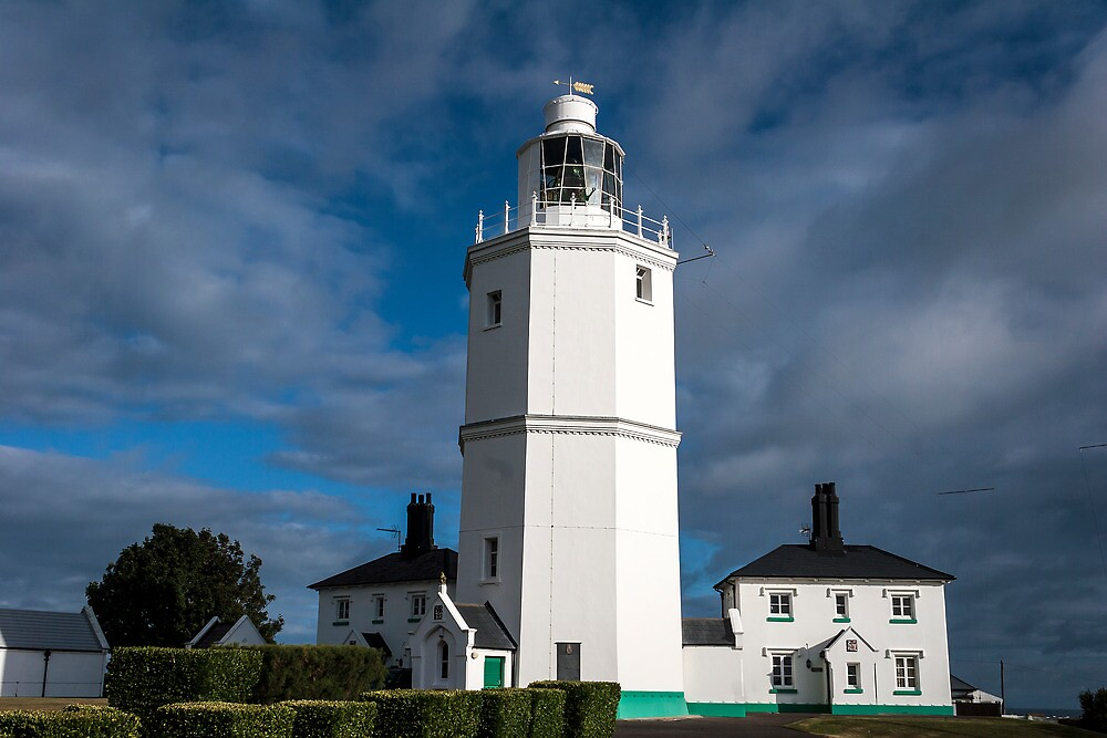 North Foreland Ligfhthouse by Ashley Beolens