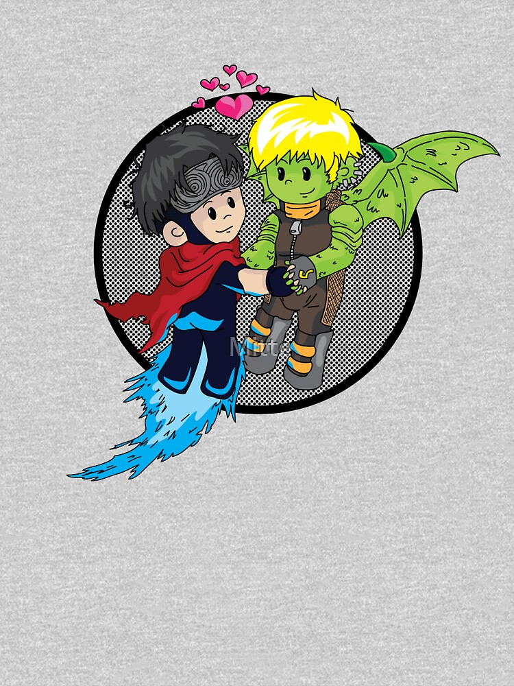 TShirtGifter presents: Wiccan and Hulkling | Unisex T-Shirt