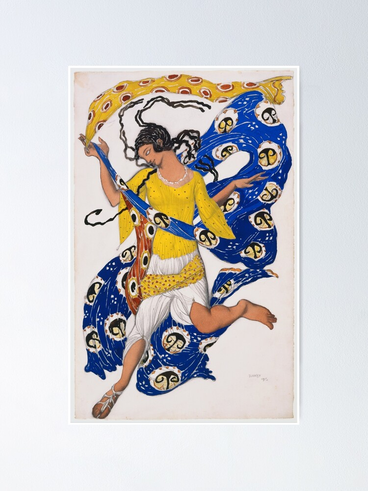 Alternate view of The Butterfly by Leon Bakst Poster