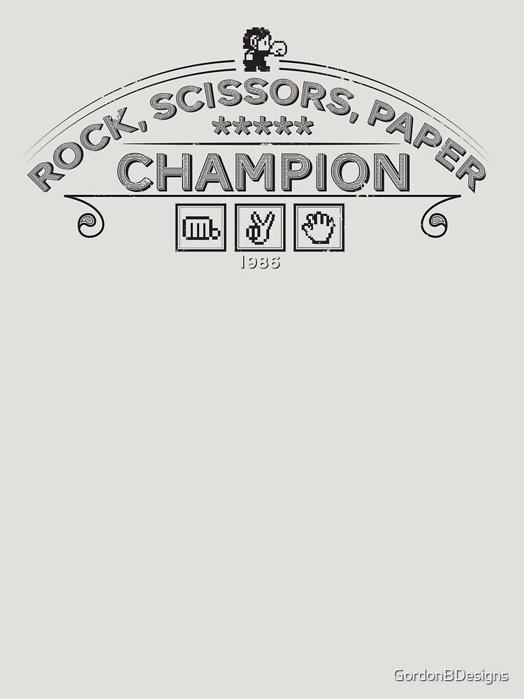 Rock scissors paper Champion - Kidd | Unisex T-Shirt