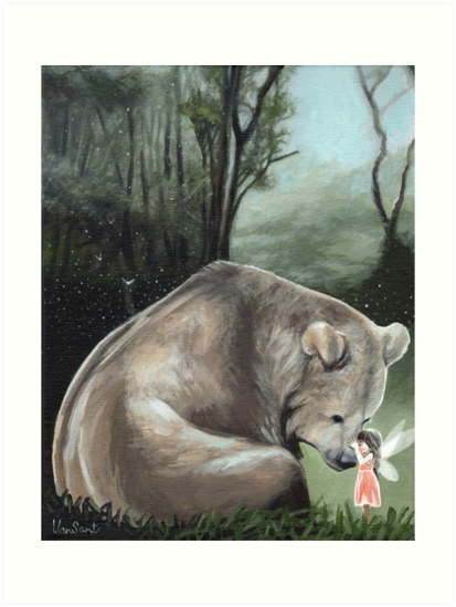Kisses For Brother Bear by Susan Van Sant