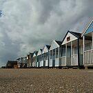Southwold Beach Huts by JoeJoeT