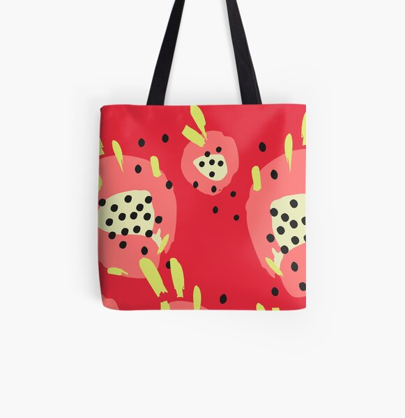 Dragonfruit All Over Print Tote Bag
