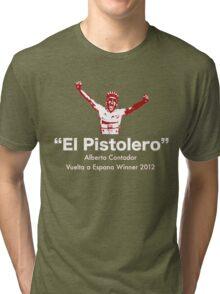 Alberto Contador Vuelta Winner 2012 Tri-blend T-Shirt