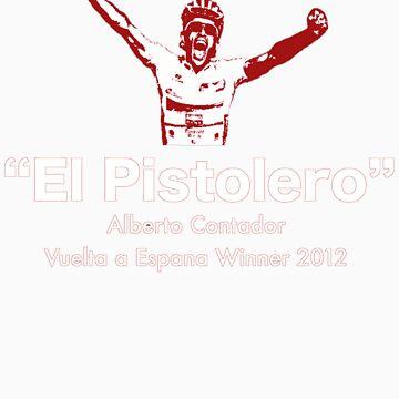 Alberto Contador Vuelta Winner 2012 by Benners