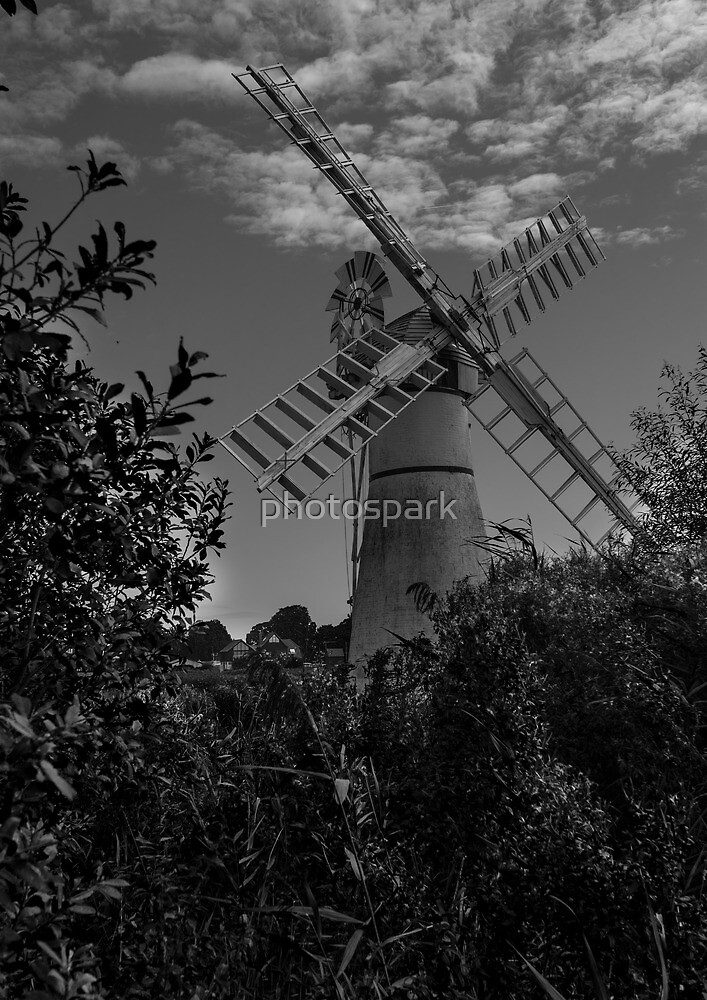 Thurne Windpump by photospark