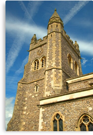 Spire of St Mary's Church, Old Amersham by Ian Mitchell