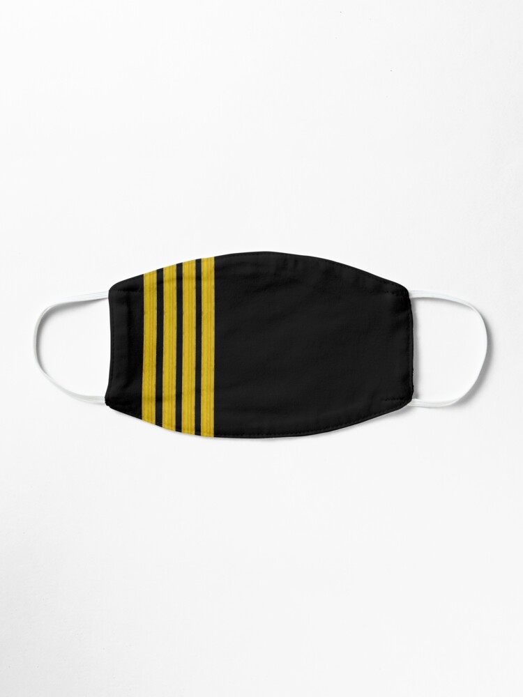 Alternate view of Captain epaulets Mask