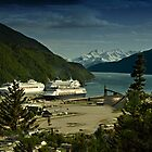Skagway Harbour and Lynn Canal by Yukondick