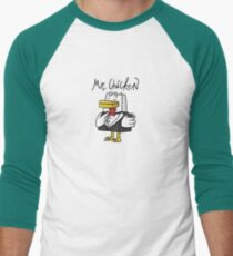 Mr. Chicken - Basic Men's Baseball ¾ T-Shirt
