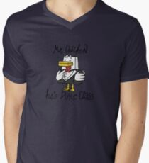 Mr. Chicken - Pure Class Edition Mens V-Neck T-Shirt