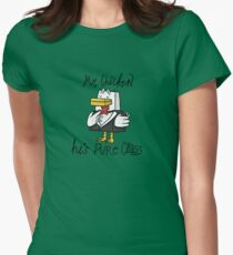 Mr. Chicken - Pure Class Edition Women's Fitted T-Shirt