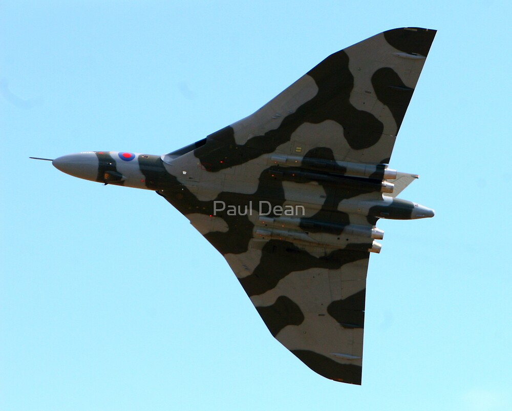 The Vulcan Bomber  by Paul Dean