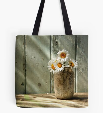 A Jar of Daisies Tote Bag