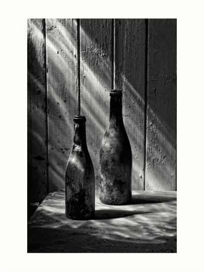 Old Wine Bottles by Patricia Jacobs DPAGB LRPS BPE4