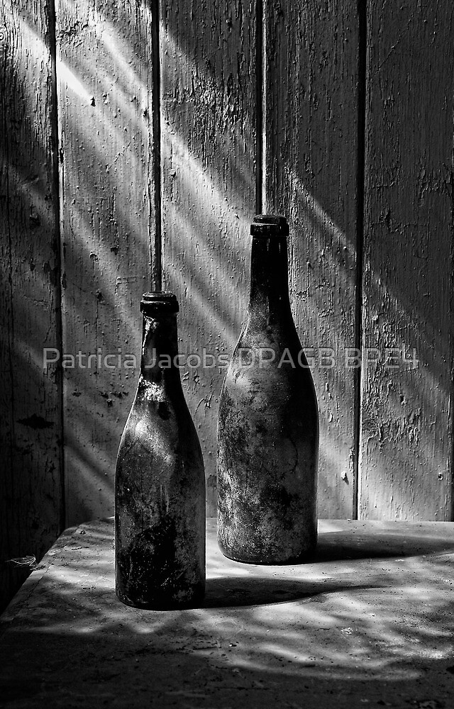 Old Wine Bottles by Patricia Jacobs DPAGB BPE4