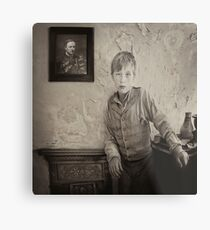 Waiting for Father to return Metal Print