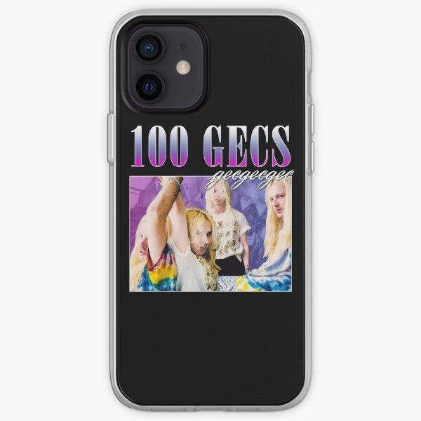 100 GECS 90'S RETRO STYLE TEE iPhone Soft Case