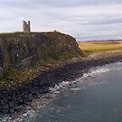 Dunstanburgh Castle Pano by Alan Rodmell