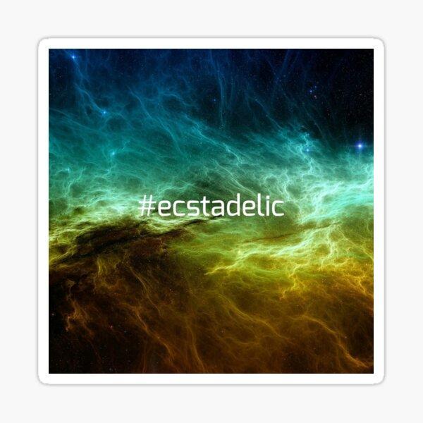#ecstadelic Sticker