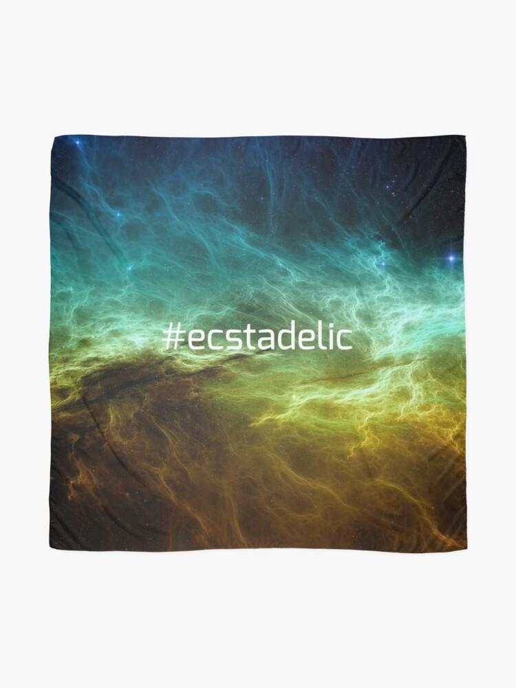 Alternate view of #ecstadelic Scarf