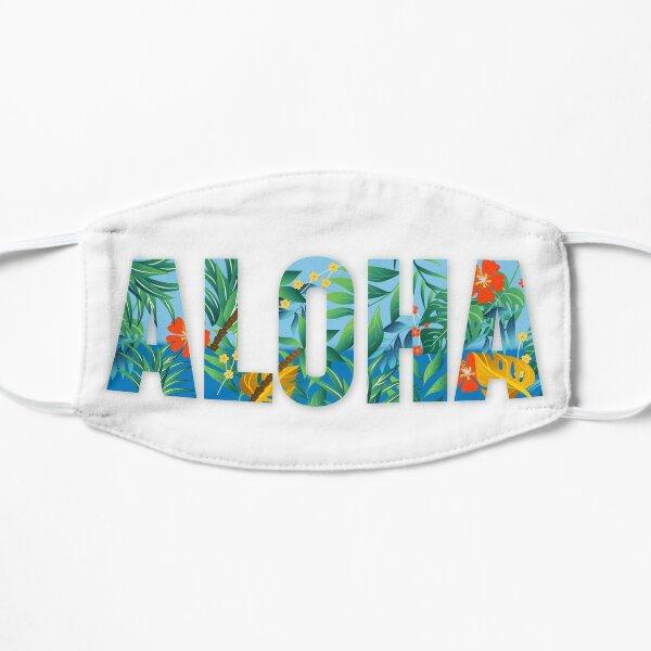 Aloha Flower Flat Mask