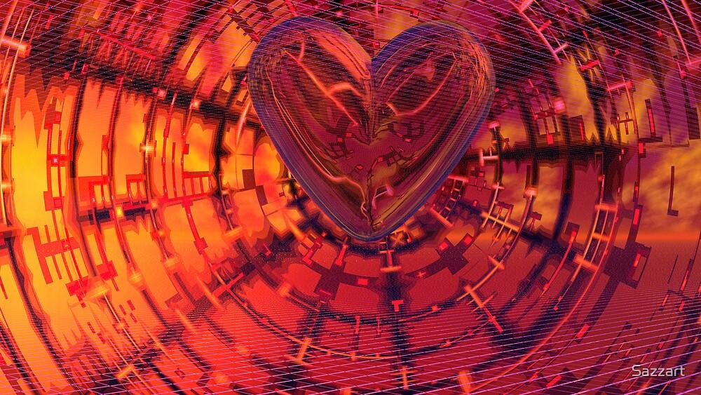 A Broken Heart's Tessellations & Hex Vortex by Sazzart