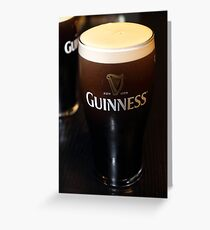 Guinness Ireland Greeting Card