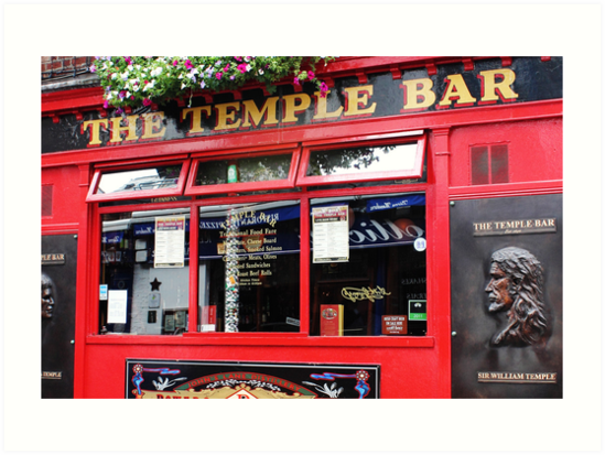 Temple Bar, Ireland by MelissaSue