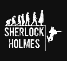 Sherlock Holmes the evolution of man | Unisex T-Shirt