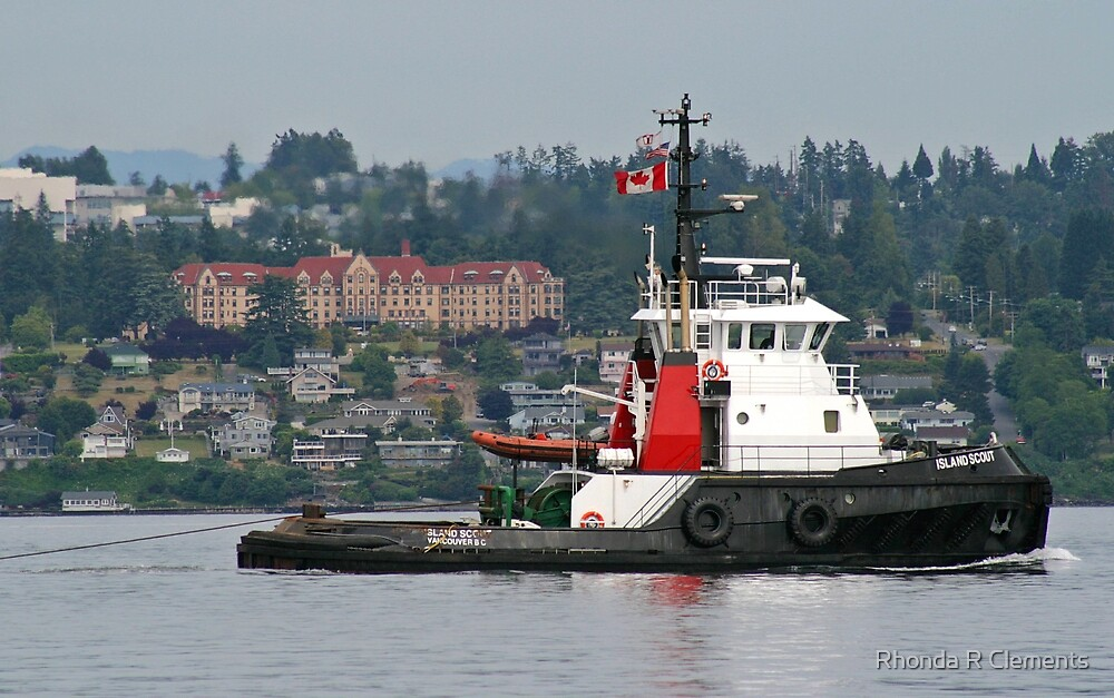 The Tug by Rhonda R Clements