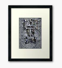 Rise of the Cybermen Framed Print