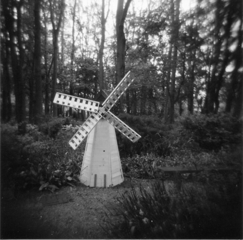 Windmill In The Woods by hazybaby