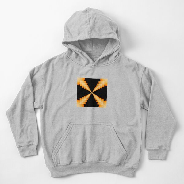 Beadwork is the art or craft of attaching beads to one another by stringing them with a sewing needle or beading needle and thread or thin wire Kids Pullover Hoodie