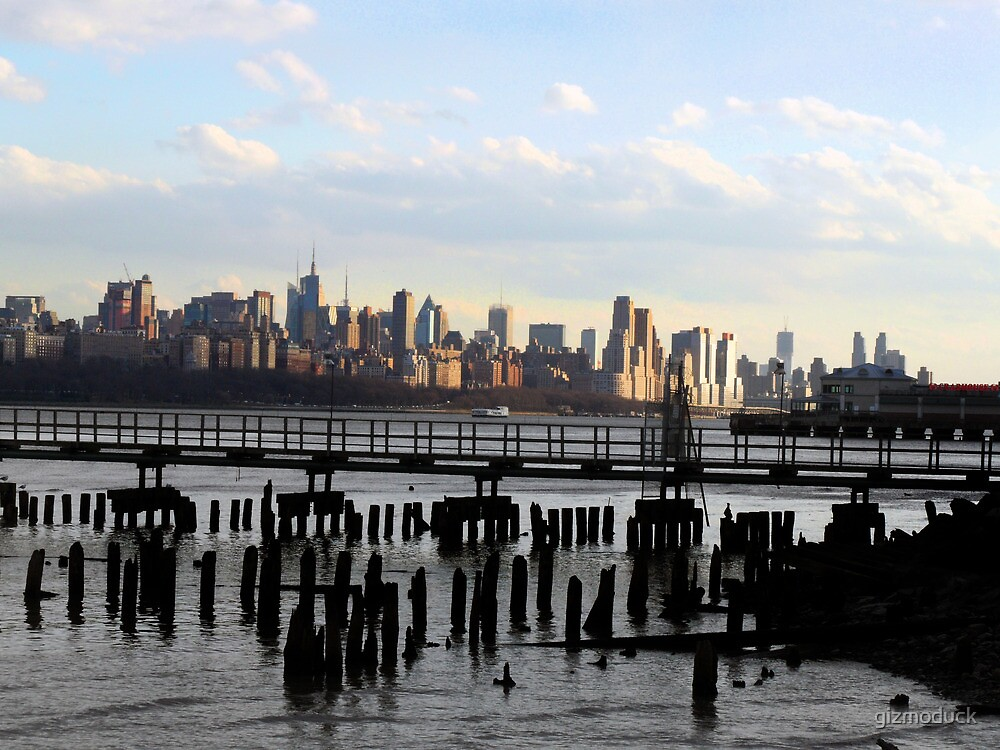 Sunset in NYC by gizmoduck