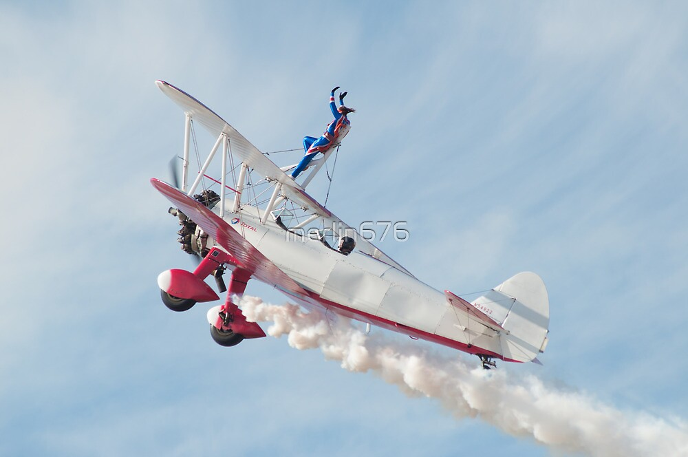 Wingwalkers @ Southport Airshow 2012 by merlin676