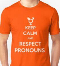 Respect Pronouns Unisex T-Shirt