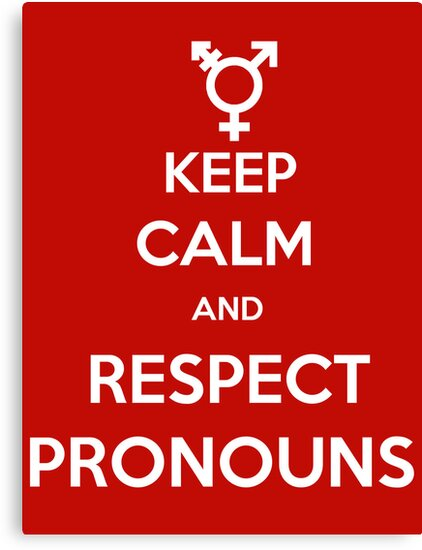 Respect Pronouns by gorramshiny