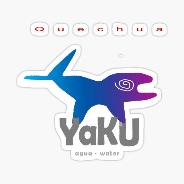 Quechua: Yaku (Water) Sticker