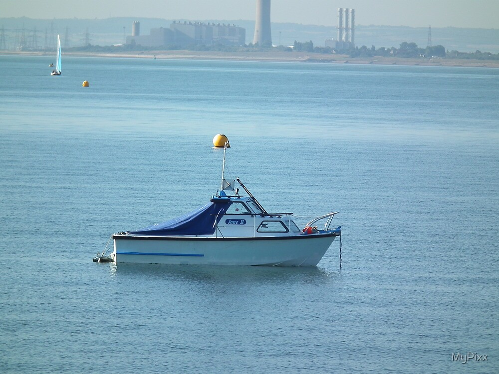 Calm at Sea by MyPixx