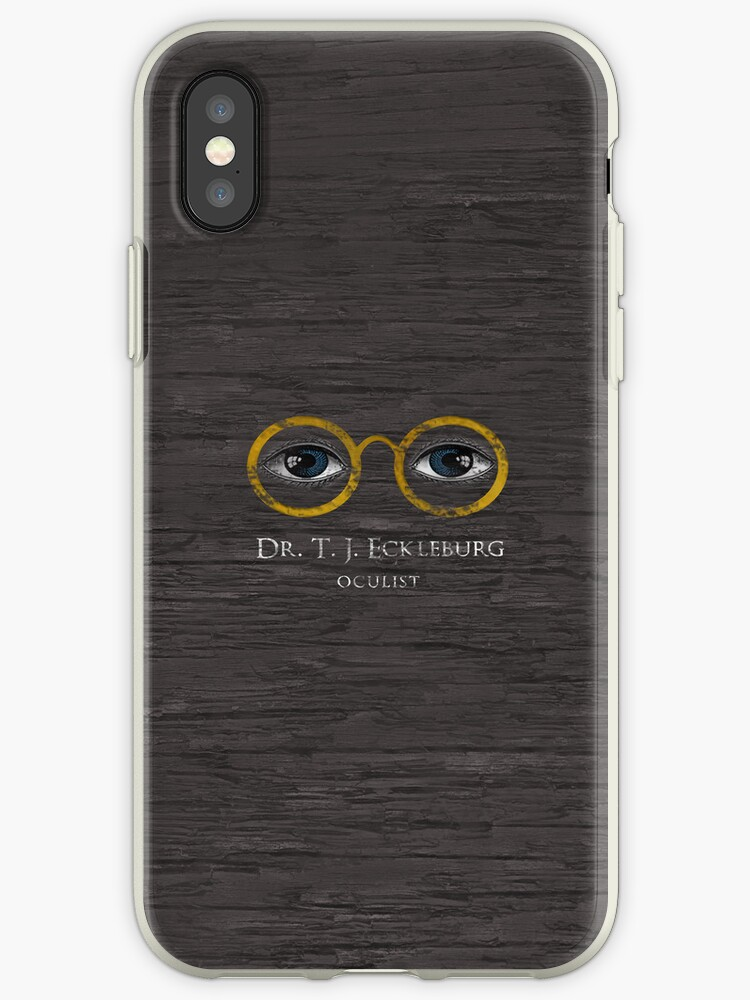 new concept 90bbb c193a 'T.J. Eckleburg - The Great Gatsby' iPhone Case by novillust