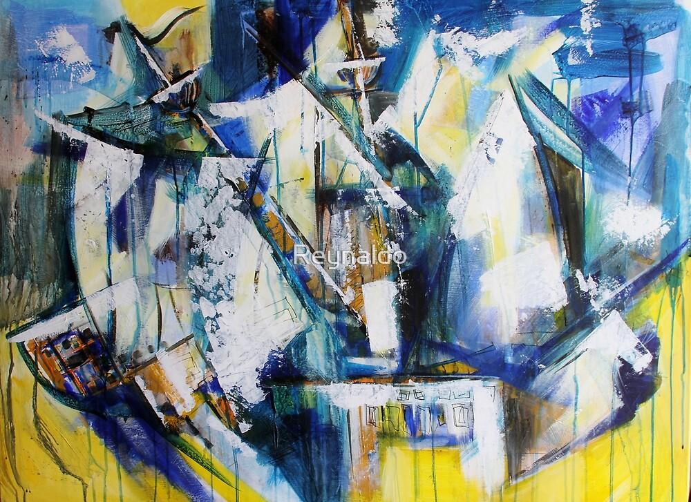 Tattered Sails  by Reynaldo