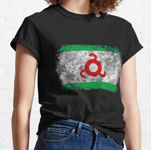 Vintage Ingushetia flag Classic T-Shirt